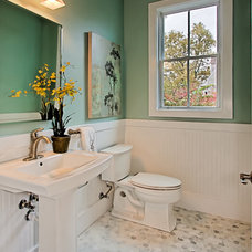 Traditional Powder Room by Arlington Home Interiors