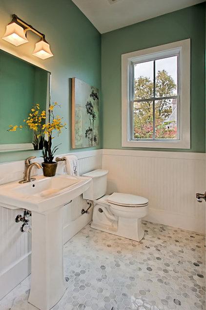 Traditional Powder Room by Arlington Home Interiors