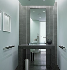 modern powder room by Matarozzi Pelsinger Builders