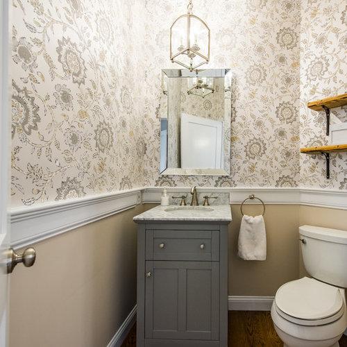 photos et id es d co de wc et toilettes romantiques. Black Bedroom Furniture Sets. Home Design Ideas