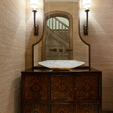 Asian Powder Room by Jacob Hand Photography