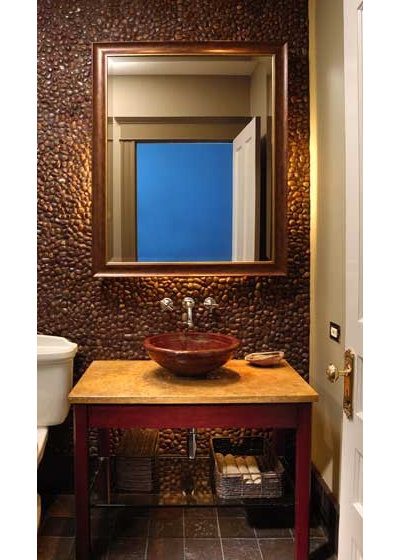 Contemporary Powder Room by Northlight Architects LLC