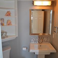 Traditional Powder Room by Hillson Homes