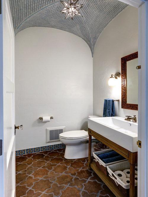 Mediterrane Gästetoilette & Gäste-WC: Ideen für Gästebad- und Gäste ...