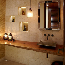 Contemporary Powder Room by Gast Architects