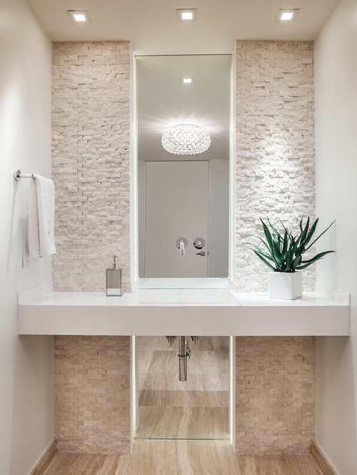 Best Small Powder Room Ideas Photos Houzz - Small powder room designs