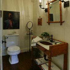 Traditional Powder Room by Thurston/Boyd Interior Design, Inc.
