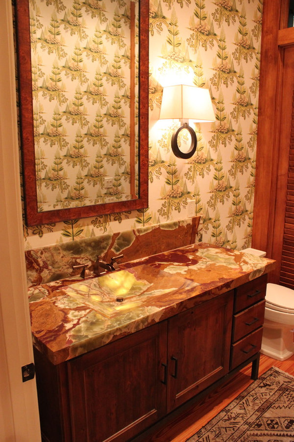 Onyx Powder Room Vanity