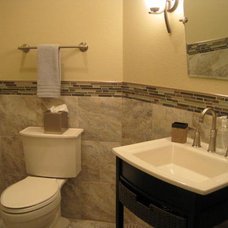 Traditional Powder Room by Dietrich Homes