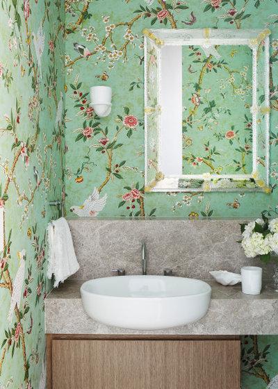 Современный Туалет by Brownlow Interior Design