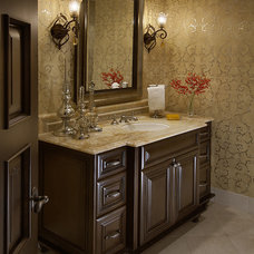 Traditional Powder Room by Ownby Design