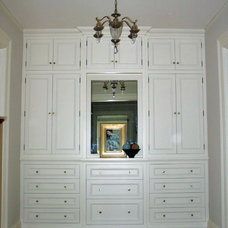 Traditional Powder Room by Kenzer Furniture