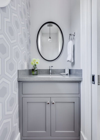Transitional Cloakroom by Lindsay Chambers Design
