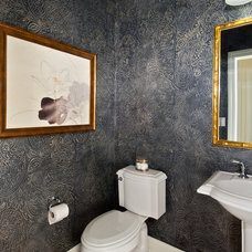 Traditional Powder Room by Classic Wall Finishes