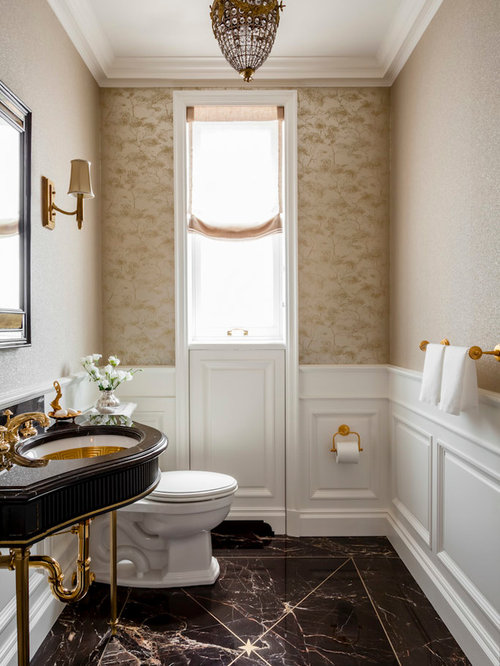 Luxury Traditional Powder Room Design Ideas Pictures Remodel Amp Decor