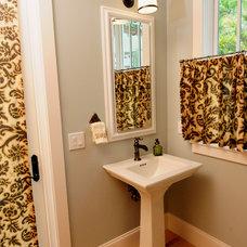Craftsman Powder Room by Sunset Properties of Tampa Bay