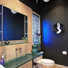Contemporary Powder Room by Luxury Homes in Orlando & Windermere