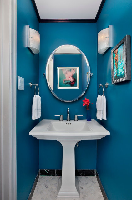 Traditional Powder Room by Hannah Dee Interiors