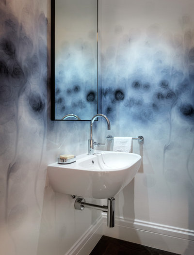 Contemporary Powder Room by Sutro Architects