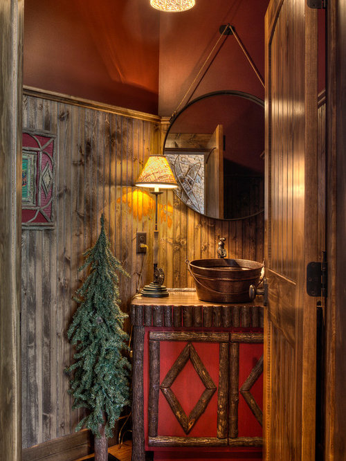 houzz  rustic bathroom ideas design ideas  remodel pictures, Bathroom decor