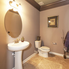 Traditional Powder Room by Haverford Homes
