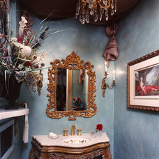 Traditional Powder Room by Green Design Innovation