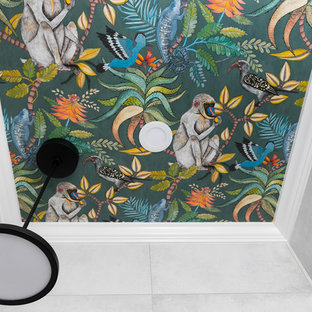 Playful Powder Room