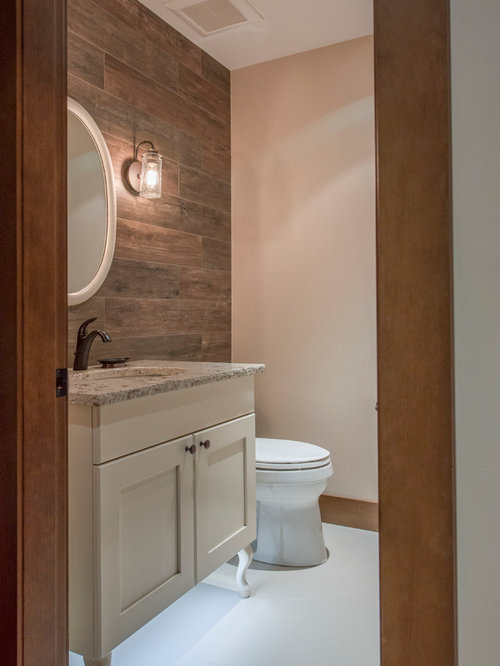 rustikale g stetoilette g ste wc mit beigen schr nken ideen f r g stebad und g ste wc design. Black Bedroom Furniture Sets. Home Design Ideas