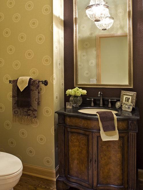 Powder room vanity home design ideas renovations photos for Powder room vanity ideas