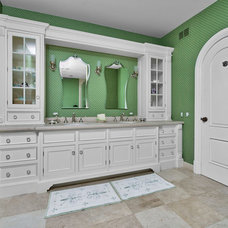 Modern Powder Room by OutVision