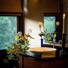 Traditional Powder Room by Patrick J. Baglino, Jr. Interior Design