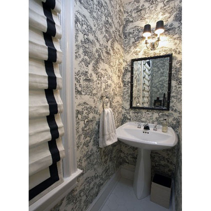 Traditional Powder Room by Patrick J. Baglino, Jr. Interior Design
