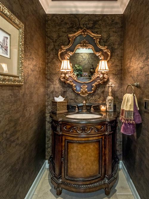 Best Mediterranean Powder Room Design Ideas Amp Remodel