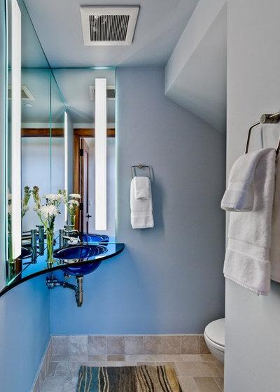 Современный Туалет by RKI Interior Design
