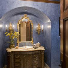 Traditional Powder Room by Bess Jones Interiors