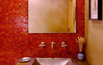 Loving Color: A Rainbow of Tile