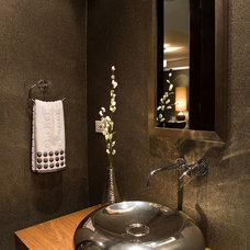 Contemporary Powder Room by ALVAREZ-DIAZ & VILLALON