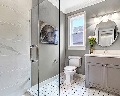 rustikale g stetoilette g ste wc mit porzellanfliesen. Black Bedroom Furniture Sets. Home Design Ideas