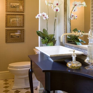 Powder room designed by Petrella Designs, Inc.