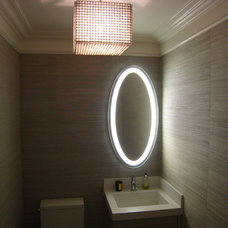 Contemporary Powder Room by Cardea Building Co.