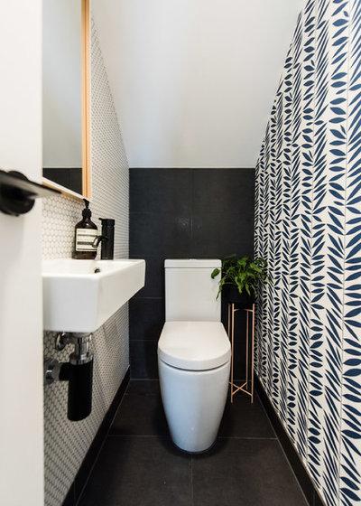 Contemporain Toilettes by embracingspace
