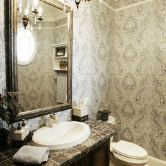powder room by Echelon Custom Homes