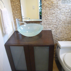 contemporary powder room Powder Room