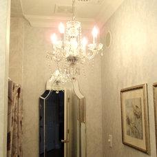 Traditional Powder Room Powder Room