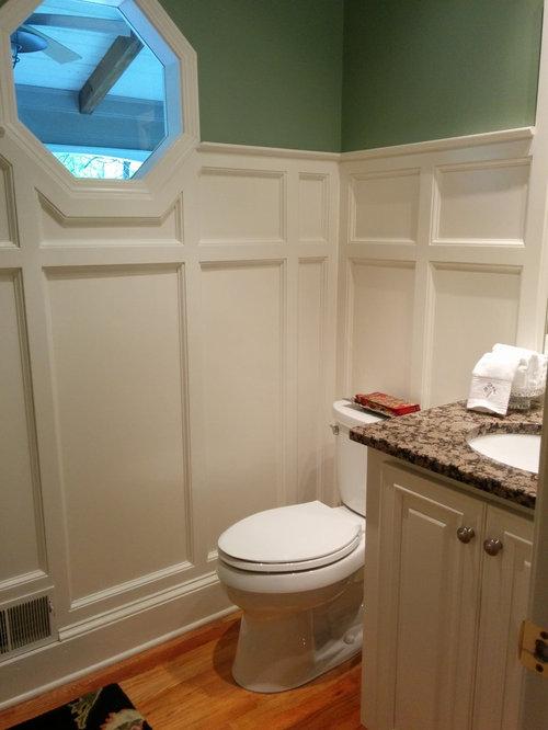rustikale g stetoilette g ste wc mit beigen schr nken ideen f r g stebad und g ste wc design. Black Bedroom Furniture Sets. Home Design Ideas