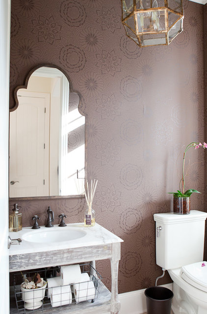 Traditional Powder Room by Jenny Baines, Jennifer Baines Interiors