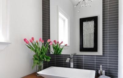 9 Ways to Add Big Style to Itty Bitty Bathrooms