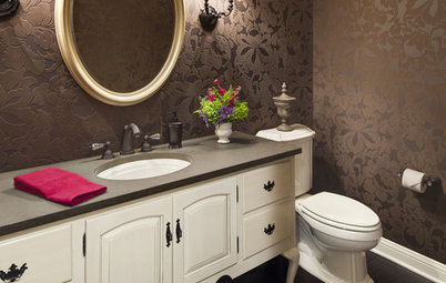 Expand Your Options for Powder Bath Furniture