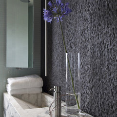 contemporary powder room by Laidlaw Schultz architects