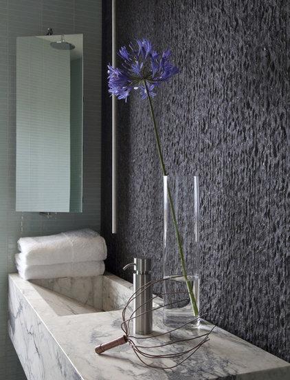 Contemporary Powder Room by Laidlaw Schultz architects